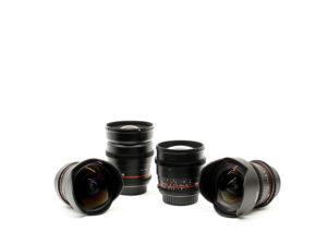 Rokinon Lenses, camera / light & grip rental, lens, rokinon, lens rental, detroit lens rental, detroit based production company