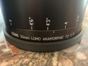 Cooke Panchro / Lomo Anamorphic Lens