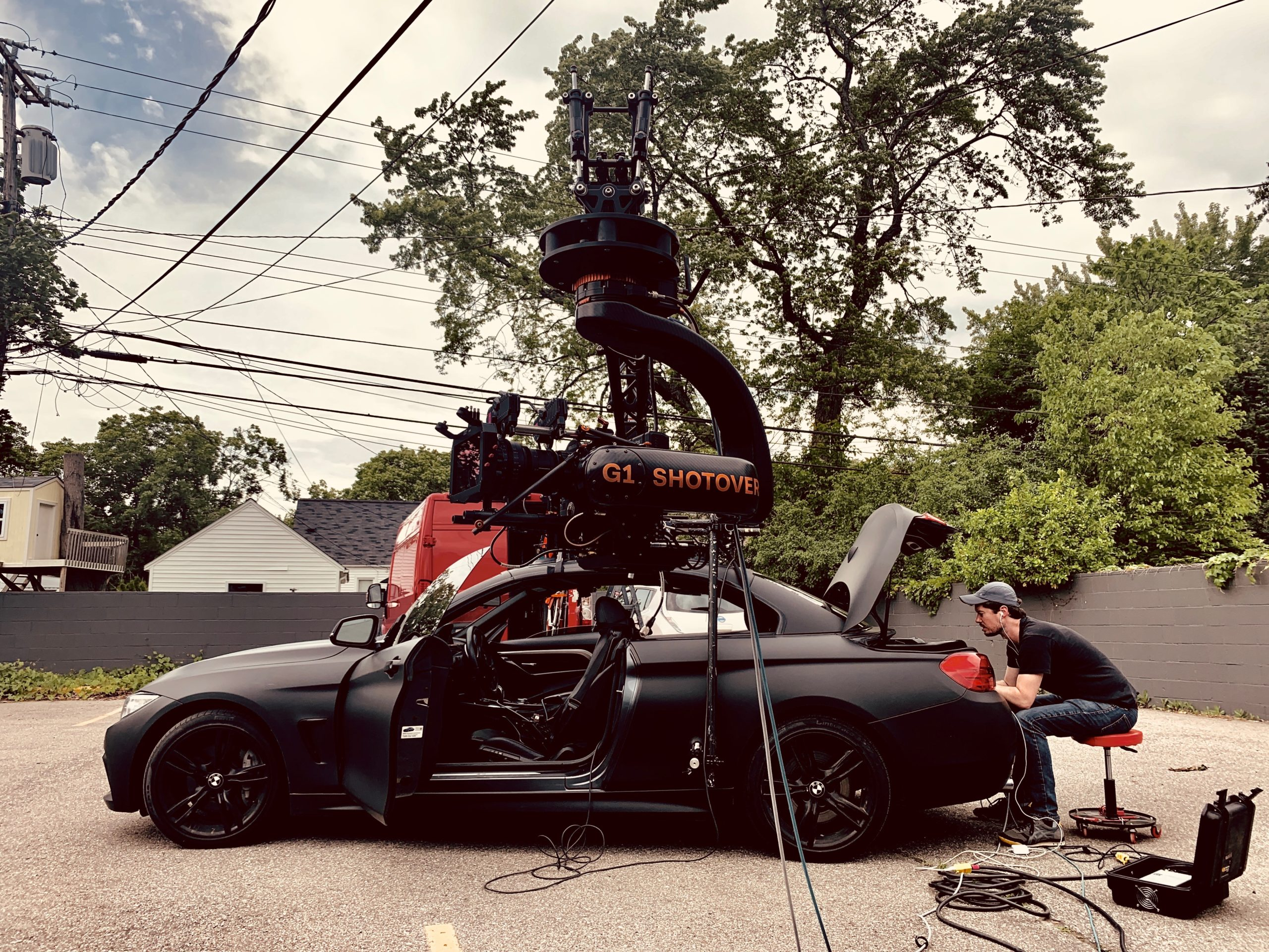 G1 Shotover, camera / light & grip rental, red, monstro, vv, 8k, camera rental, detroit based production company, film camera rental